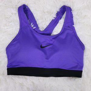 2/$20 Nike purple dri-fit sports bra  c2
